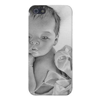 Neugeborener Baby-Geschenk-Speck-Kasten iPhone 5 Cover