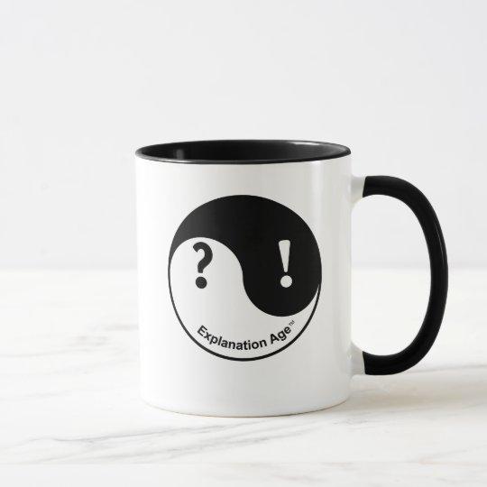 Neugier-u. Überzeugungs-Tasse Tasse