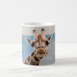 Neugierige Giraffe Kaffeetasse