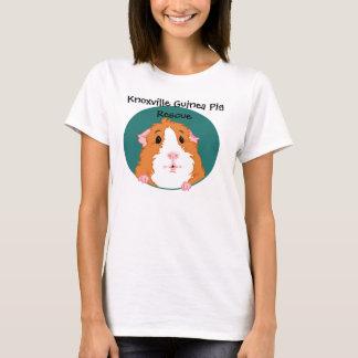 Neugieriger Meerschweinchen-T - Shirt