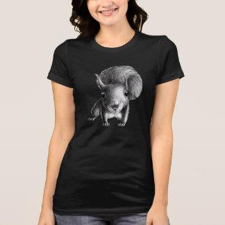 Neugieriges niedliches Eichhörnchen T-Shirt