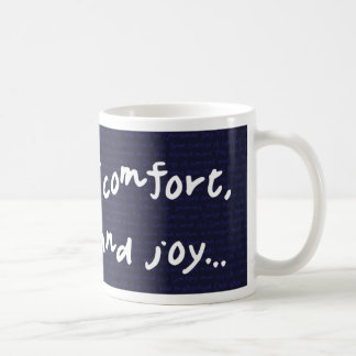 Neuigkeiten des Komforts und der Freude Tasse