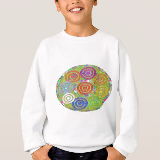 Neun Kreise innerhalb der Ovale der Kreis-n - Spaß Sweatshirt