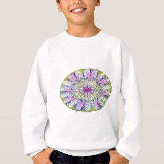 Neun Ovale der Kreis-n - hellblauer Schatten Sweatshirt