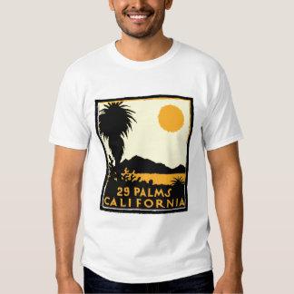 Neunundzwanzig Palmen-T-Shirt Hemden