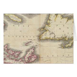 Neuschottland, Neufundland Karte