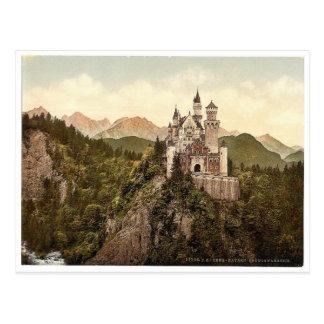 Neuschwanstein, oberes Bayern, Deutschland Postkarte