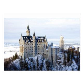 Neuschwanstein-Schloss 4 Postkarte