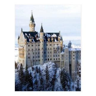 Neuschwanstein-Schloss 4 Postkarten