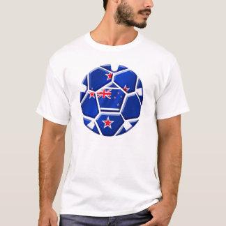 Neuseeland aller Weiß-Fußball-Geschenke 2010 Gang T-Shirt