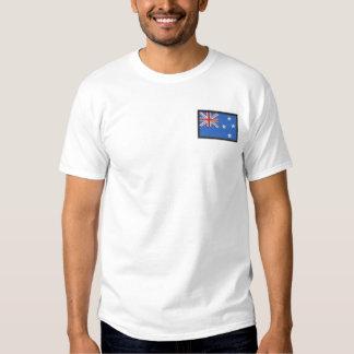 Neuseeland Besticktes T-Shirt