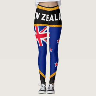 Neuseeland-Flagge Leggings