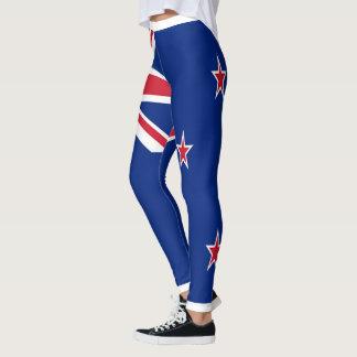 Neuseeland-Flagge voll Leggings