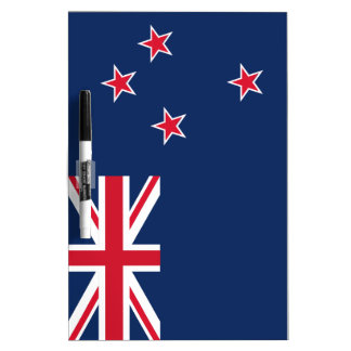 Neuseeland-Flagge Whiteboards
