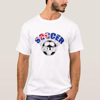 Neuseeland-Flaggen-Fußball Grafik T-Shirt