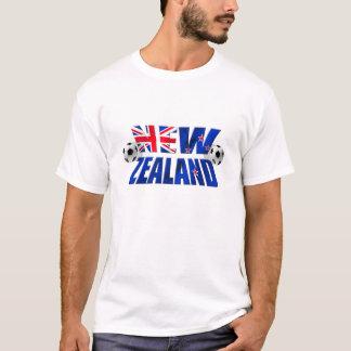Neuseeland-Fußballlogo NZ Fußballflagge 2010 T-Shirt