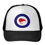 Neuseeland roundel Kiwi Caps
