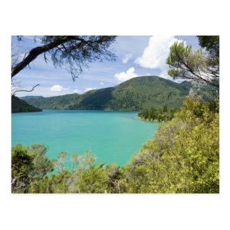 Neuseeland, Südinsel, Marlborough Töne Postkarte