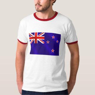 Neuseeländerflagge der Neuseeland-Kiwigeschenke T-Shirt