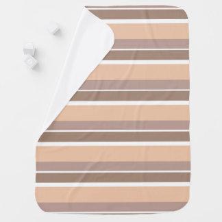 Neutrale Person Stripes Baby-Decke Kinderwagendecke