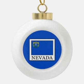 Nevada Keramik Kugel-Ornament