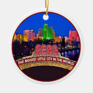 NEVADA Reno Keramik Ornament