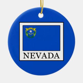 Nevada Rundes Keramik Ornament
