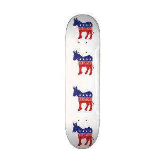 New Hampshire-Demokrat-Esel Bedruckte Skateboarddecks