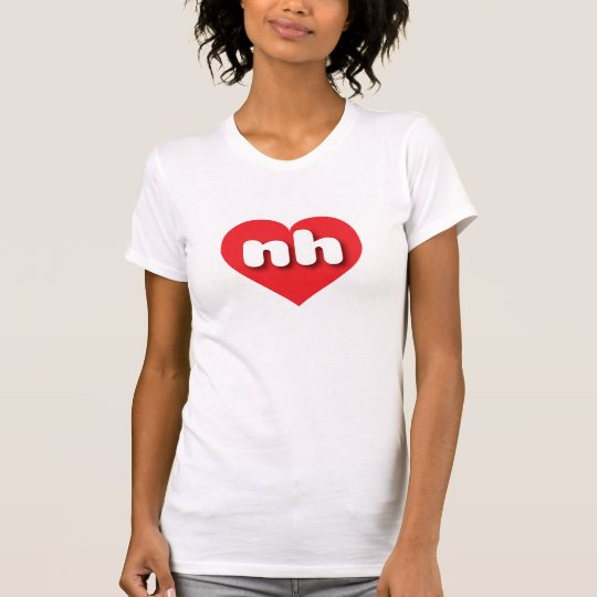 New Hampshire rotes Herz - MiniLiebe T-Shirt