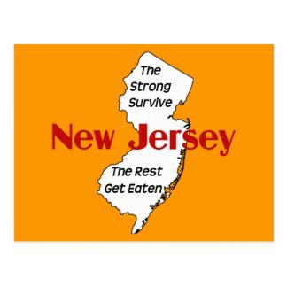 New-Jersey: die starken überleben; die Erholung Postkarte