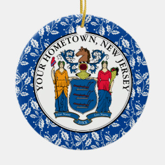 New-Jersey Hometown personifizieren Keramik Ornament