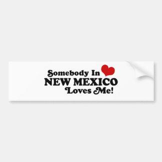 New Mexiko Autoaufkleber