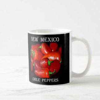 New-Mexiko Chili-Paprikaschoten (Chile) Kaffeetasse