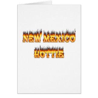New Mexiko hottie Feuer und Flammen Karte