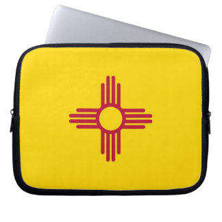 New-Mexiko Staats-Flaggen-Laptop-Hülse Laptop Sleeve
