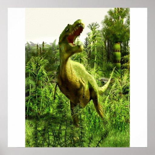 New MexikoAllosaurus Plakat