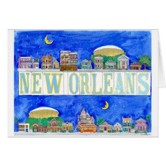 New Orleans Grußkarte