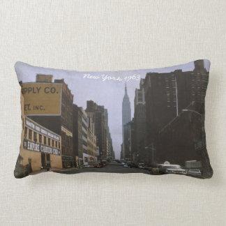 New York 1963 Lumbar-Wurfs-Kissen Lendenkissen
