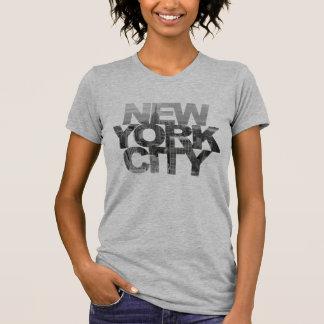 New York City (Ausschnitts-Masken-Text) T-Shirt