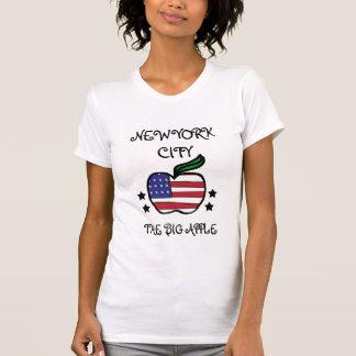 New York City die großen Apple-Shirts T-Shirt
