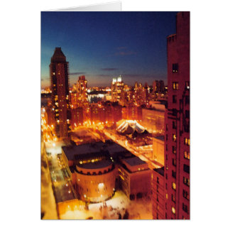 New York City in einer Minute Karte