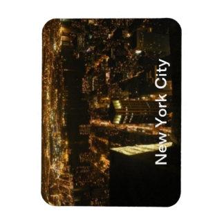 New York City/Nachtleben Flexibler Magnet