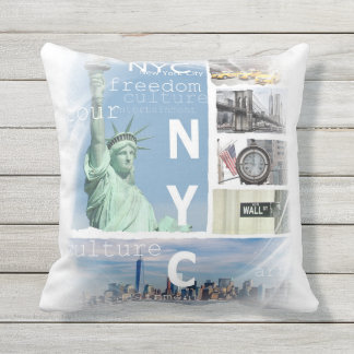 New York City Nyc Coussin