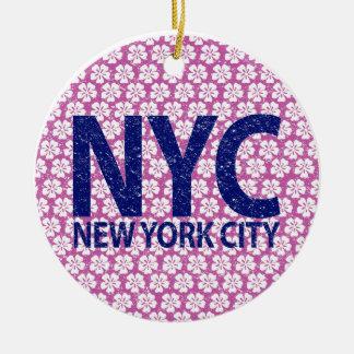 New York City NYC Keramik Ornament