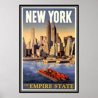 New York City vintage, Etats-Unis - Posters