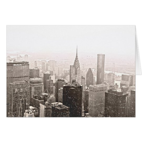 New- York Cityfeiertag Grußkarte