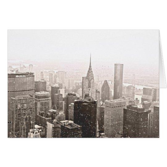 New- York Cityfeiertag Karte