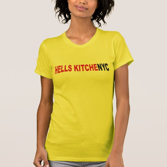 New- York Cityhöllen-Küchen-T - Shirts