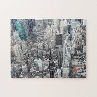 New- York Citywolkenkratzer von oben