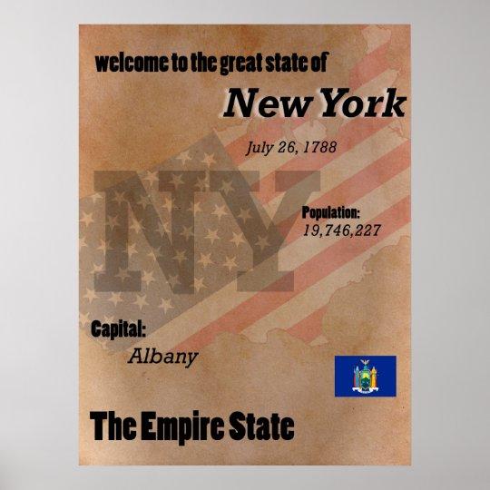 New York der Reich-Staats-Klassiker Poster